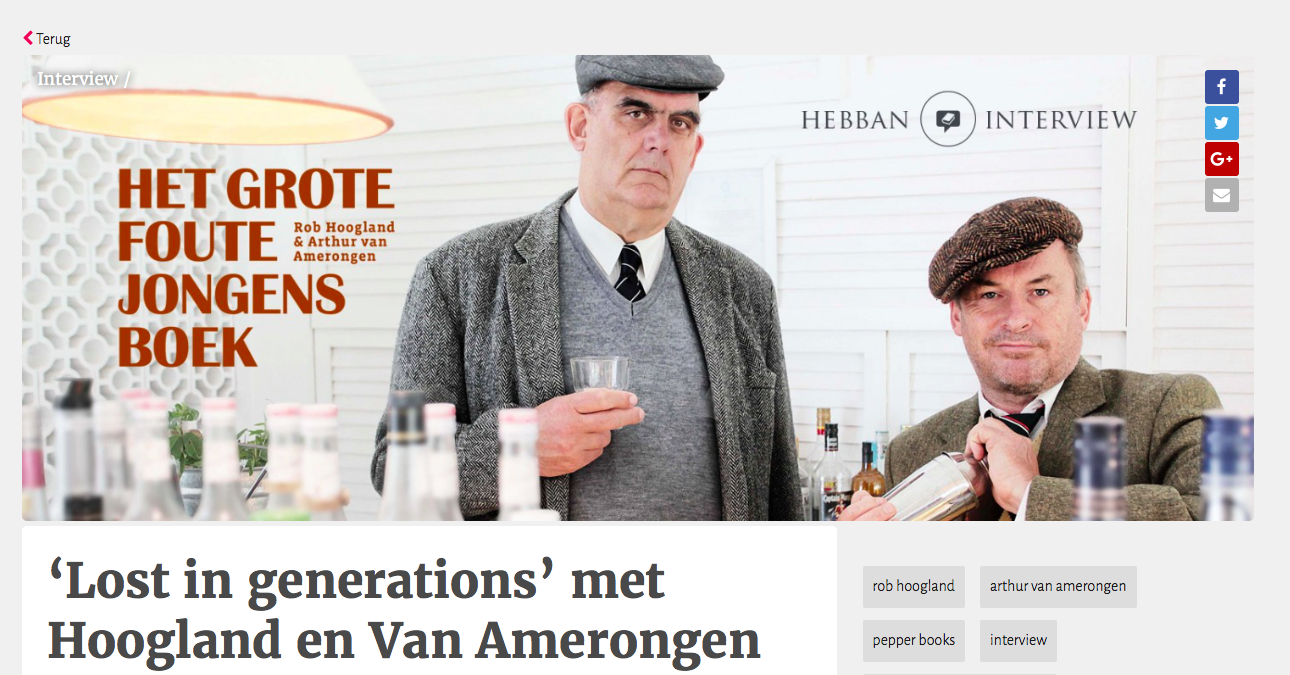 'Lost in generations' met Hoogland en Van Amerongen