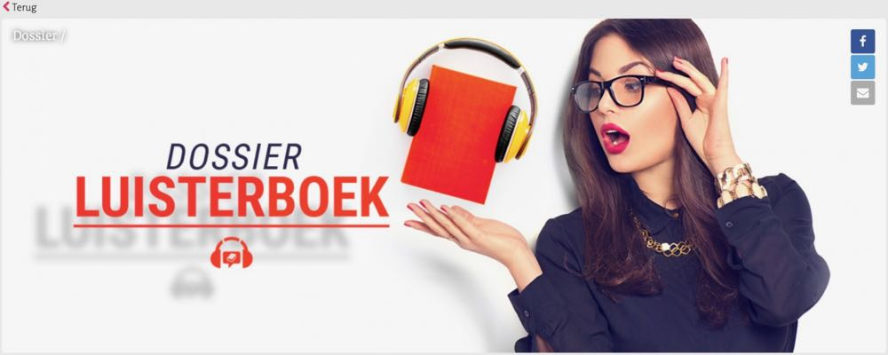 Het luisterboek: van ondergeschoven kind tot succesformule