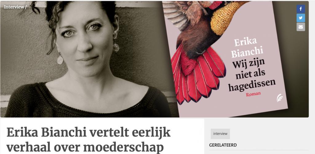 Interview Erika Bianchi - Hebban.nl
