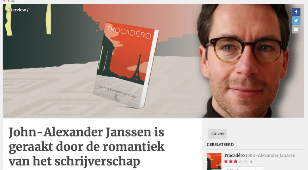 Interview John-Alexander Janssen - Hebban.nl