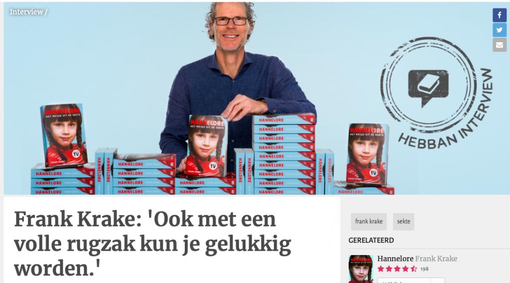 Interview Frank Krake - Hebban.nl